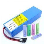 Lítiová batéria 18650 60 V 12AH lítium-iónová nabíjateľná batéria pre skútre