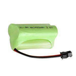 Dobíjateľná batéria NiMH AA2400 3,6 V