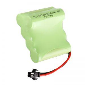 Akumulátorová batéria NiMH AA2400 6V Akumulátorové náradie s elektrickým náradím Batéria