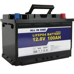 Náhradná batéria GEL / AGM Solar Power Storage batéria 12v 100ah LifePo4 lítium-iónová batéria