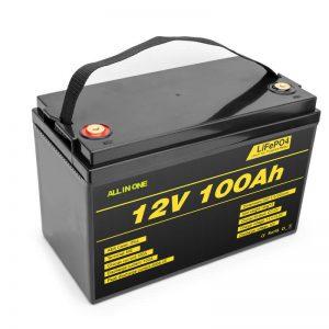 LiFePO4 Batéria lithiová batéria 12v 100ah hlboká batéria