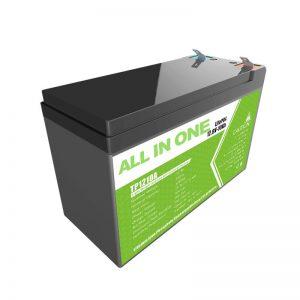 Vymeňte olovo-gélovú batériu lítium-iónovú batériu 12 V 10 Ah za malý akumulátor