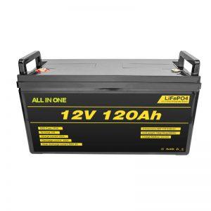 Lítiová batéria Lifepo4 BMS 12v 120ah Lítium-iónová batéria Lifepo4 12v
