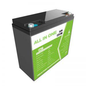 VŠETKO V JEDNOM náhradná olovená lítiová batéria 12,8 V20Ah