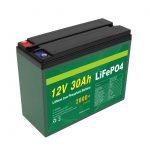 OEM batéria Nabíjateľná 12V 30Ah 4S5P lítiová 2000+ výrobca hlbokých cyklov Lifepo4 článkov