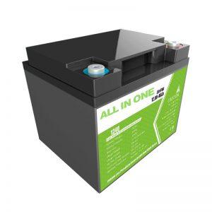 Továrenská cena 12,8 V 40 Ah náhrada olovnatej kyseliny pre skladovanie energie pre domáce spotrebiče