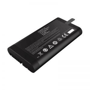 14,4 V 6600 mAh 18650 lítium-iónová batéria Panasonic batéria pre sieťový tester s komunikačným portom SMBUS