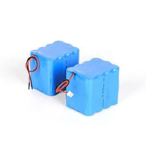 Prispôsobená nabíjateľná lítiová batéria 18650 s vysokým vybíjaním 3s4p 12v li iónová batéria