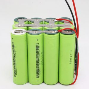 Veľkoobchodne prispôsobená 18650 lítiová 4s3p vodotesná doska s plošnými spojmi s hlbokým cyklom 12v 10AH pre elektrické náradie
