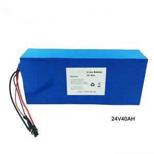 Elektrické bicykle 24 V lítiová batéria 24 V 40 Ah Li-Ion batéria NMC Nabíjateľná batéria ión lítium