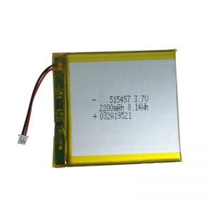 3,7 V 2200 mAh polymérové lítiové batérie pre inteligentné domáce zariadenia