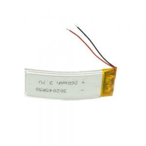 LiPO batéria na mieru 302045 3,7 V 260 mAh