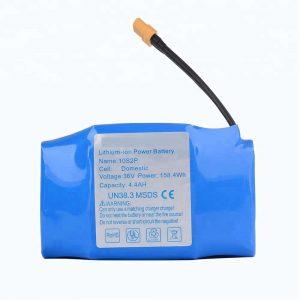 Najpredávanejšia lítiová batéria s hoverboardom 36v 4400mah 10s2p