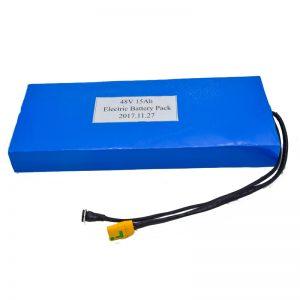 Veľkoobchodná lítiová batéria 15 Ah 48 V pre elektrický skúter