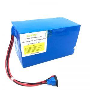 Prispôsobená lítiová batéria 18650 48V 40Ah pre elektrický bicykel, elektrický čln a elektrický skúter