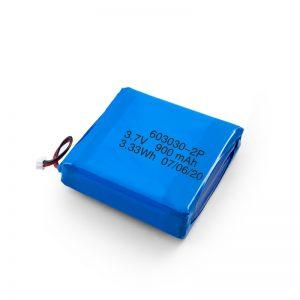 Nabíjateľná batéria Li-Po Lipo s kapacitou 3,7 V 450 530 550 700 750 800 900 mAh
