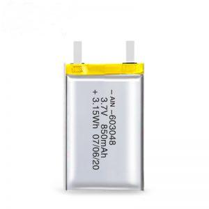 Nabíjateľná batéria LiPO 603048 3,7 V 850 mAh / 3,7 V 1700 mAh / 7,4 V 850 mAh