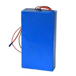 Nabíjateľná lítiová batéria 60v 12ah pre elektrický skúter