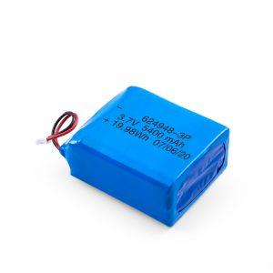 Nabíjateľná batéria LiPO 624948 3,7 V 1800 mAh / 3,7 V 5400 mAh