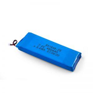 Nabíjateľná batéria LiPO 651648 3,7 V 460 mAh / 3,7 V 920 mAh / 7,4 V 460 mAh