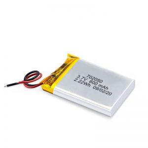 Čína Veľkoobchod 3,7 V 600 mAh 650 mAh Li-Polymérová lítiová batéria nabíjateľné batérie pre autíčko