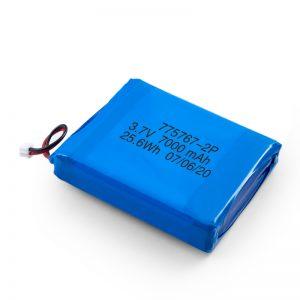 Vlastná 3,7 V 2450 2600 3900 4000 4500 4700 5000 6000 9000 Mah polymérová lipo batéria
