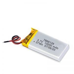 Nabíjateľná batéria LiPO 7866120 3,7 V 10 000 mAh / 3,7 V 200 000 mAh / 7,4 V 10 000 mAh