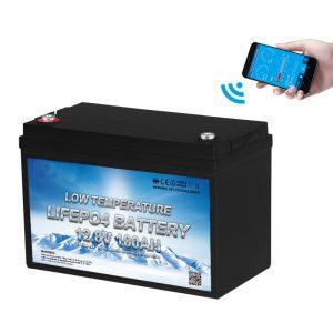 Batéria LiFePO4 pri nízkych teplotách 12 V 100AH