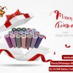 Veselé pozdravy Christams od spoločnosti ALL IN ONE Battery Technology Co Ltd.