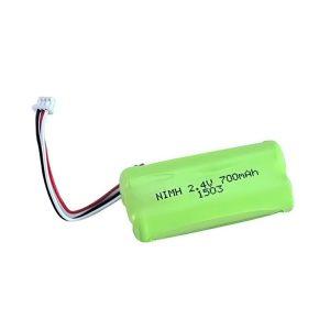 Dobíjateľná batéria NiMH AA700 2,4 V