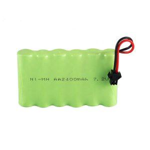 Dobíjateľná batéria NiMH AA 2400 mAh 7,2 V