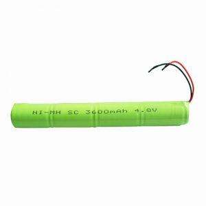 Dobíjateľná batéria NiMH SC 3600mAH 4,8 V