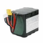 Nabíjateľné 18650 batériové články 3S4P lítium-iónová batéria 11.1V 10Ah pre solárnu žiarovku