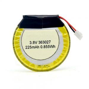Batéria prispôsobená pre LiPO 363027 3,7 V 225mAH