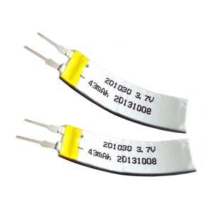 LiPO batéria prispôsobená na 3,7 V 43 mA