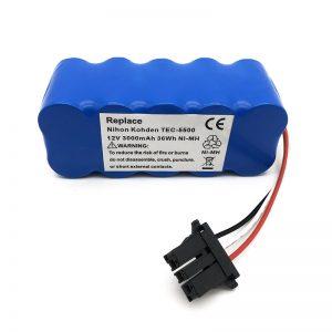 12v Ni-MH batéria pre vysávač TEC-5500, TEC-5521, TEC-5531, TEC-7621, TEC-7631